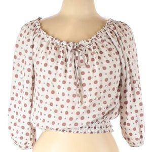 Free Kisses 3/4 Sleeve Blouse